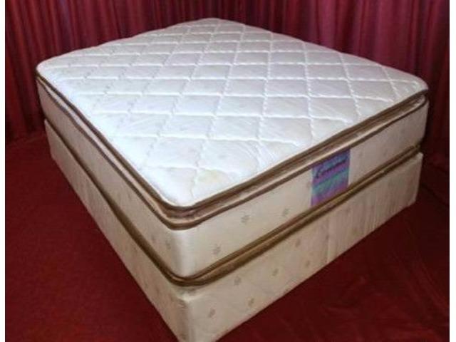 Brand New Double Pillow Top Mattress Set W25 Y Warranty