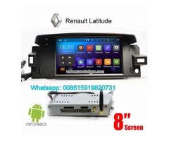 Renault Latitude Android Car Radio GPS WIFI navigation camera