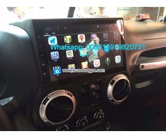 Jeep Wrangler Car radio GPS android 6.0 Wifi 10.2inch navigation camera