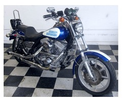 1985 Harley Davidson FXRS 1340 Lowrider 20,000 miles White-Blue 85 HD