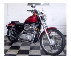 1999 Harley Davidson XL883 Sportster 12,000 miles Candy-Red 99 HD XL 883