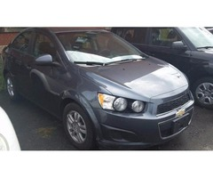 2012 Chevy Sonic low down&low weekly payments