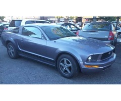 2007 Ford Mustang low down&low weekly payments