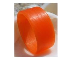 Bright Orange Unidirectional Ring