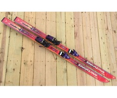 Dynastar 165cm Downhill Skis With Look Bindings