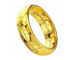 Titanium Lord of the Rings Bands Woman Man