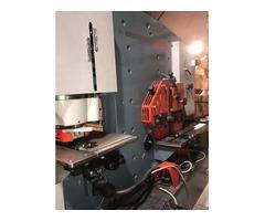 SLIGHTLY USED DURMA IW80/150 IRONWORKER