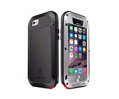 For iPhone 6/6s Love Mei Grey Metal Ultra-thin Waterproof Dustproof... Case