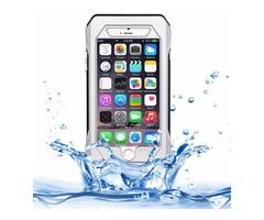 iPhone 6/6s Silver RIYO IP68 Waterproof Shockproof Dustproof Snowproof Case