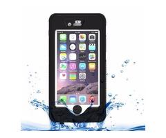 For iPhone 6/6s Black Waterproof Dustproof Shockproof Crushproof Case & Holder