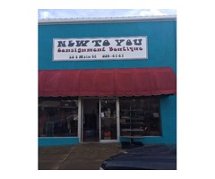 Consignment store for sale