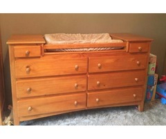 Excellent condition baba/toddler bedroom furniture set