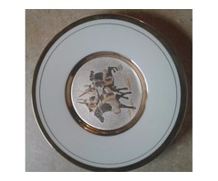 24K GOLD ART OF CHOKIN PLATE