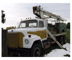 1968 International boom truck