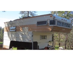 11.5 ft Holiday Truck Camper 1971