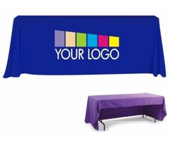 Custom Printed Table Covers for Trade Shows