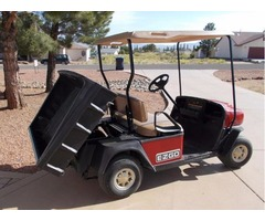 2005 EZ-GO GAS GOLF CART WORKHORSE MPT 800