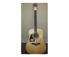 Ibanez AW300L/NT Artwood Left-Handed Lefty Acoustic - Natural