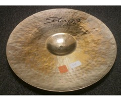 """Stagg Percussion/Drums Handmade DH Brilliant 20"""" Rock Ride Cymbal"""
