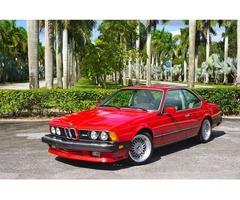 1987 BMW M6 Base Coupe