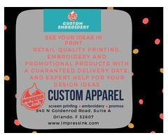 Design your own Custom T shirts to Promote your Business