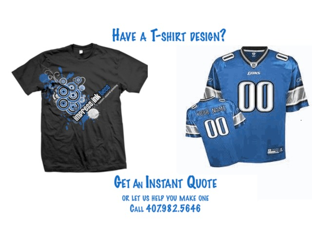 Design your own custom t shirts to promote your business for Custom t shirt orlando