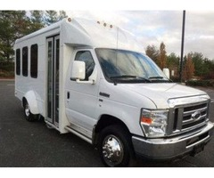 2012 Ford E350 Non-CDL Multi-Use Shuttle Bus (A4803)