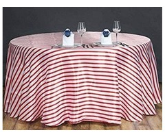 Round Craft Show Tablecloth