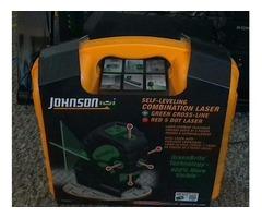 JOHNSON Self-Leveling Combination Laser