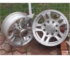 16 inch Aluminium Rims
