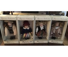 Porcelain Doll Set