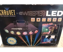 Set of 2 Chauvet Sweeper LED Lights