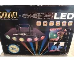 Set of 2 Chauvet Sweeper LED Lights