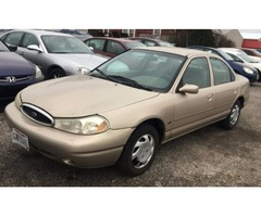 1998 FORD CONTOUR-ONLY 68K MILES-NO