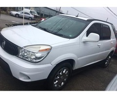 2007 BUICK RENDEZVOUS-3RD ROW-NO CREDIT CHECK-WHITE-$700