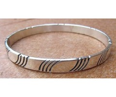 Order Sterling silver bangles wholesale - P&K Jewelry