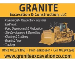 Granite Excavation & Construction - Quality & Integrity at its finest