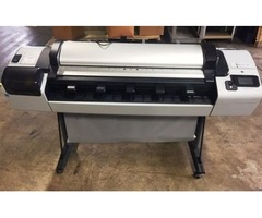 "2012 HP T2300 PostScript 44"" Plotter w/ Ink"