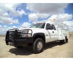 2005 Chevrolet Silverado 3500 Service Utility Body