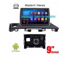 Mazda 6 Atenza 2017 audio radio Car android wifi GPS navigation camera