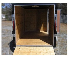Moving Trailer for sale 6 foot by 12 foot Black trailer NEW