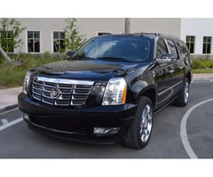 2011 Cadillac Escalade ESV PREMIUM NAV DVD 22'S