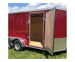 Lark 7x14' Enclosed Trailer 5 Years Warranty