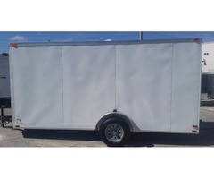 6 x 14 Enclosed Trailers with Extra Height