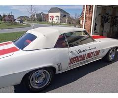 1969 Chevrolet Camaro Z-11 Pace Car Convertible