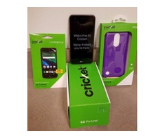 New LG Fortune w/screen protector and case