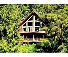 Mt. Baker Lodging - Cabin #7 - LAKEFRONT, HOT TUB, BBQ, Pets Ok, Fireplace, Sleeps-10