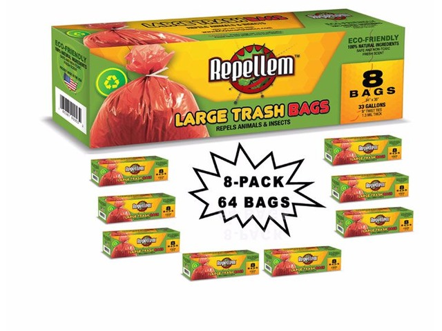 Repellem Large Kitchen Trash Bags -Club PK | free-classifieds-usa.com