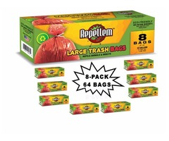 Repellem Large Kitchen Trash Bags -Club PK
