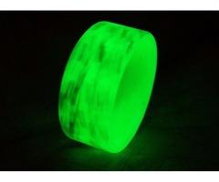 Texalium/Composite Green Glow Ring
